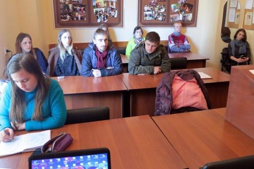 Засідання студентського наукового гуртка «Університетська історія у дзеркалі біографістики та просопографії»