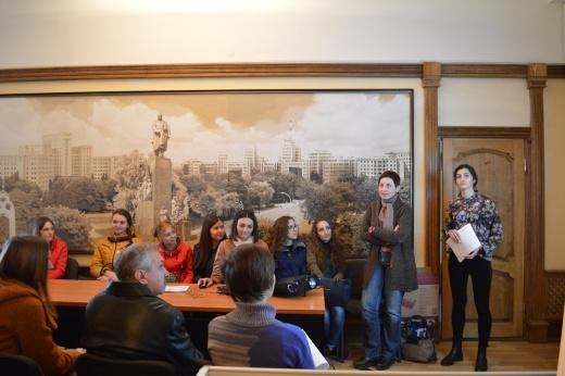 Спільне засідання студентських гуртків «Історія та сьогодення Головного корпусу Каразінського університету»