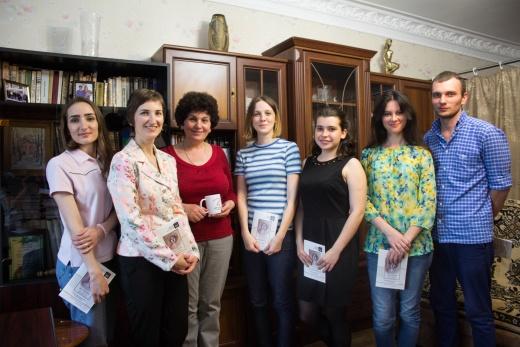 Засідання студентського наукового гуртка історіографії, джерелознавства та спеціальних історичних дисциплін