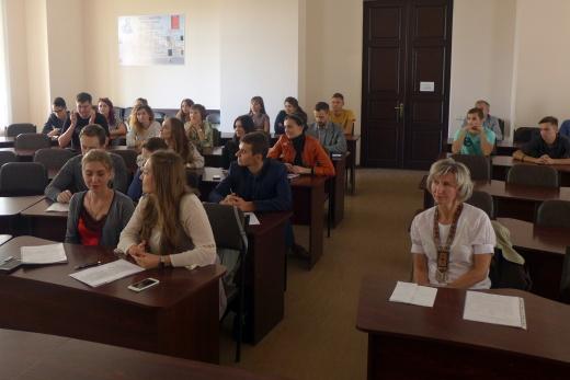 Презентація об`їзду архівів Польщі та проекту «Європа на власні очі»