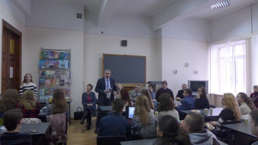 Засідання студентського наукового гуртка історіографії, джерелознавства та СІД  – «Науковий туризм як стиль життя»