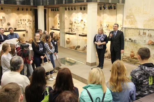 Новая археологическая выставка в ХНУ имени В.Н.Каразина