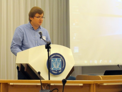 PhD Ye.S.Rachkov took part in the International Conference in Poland