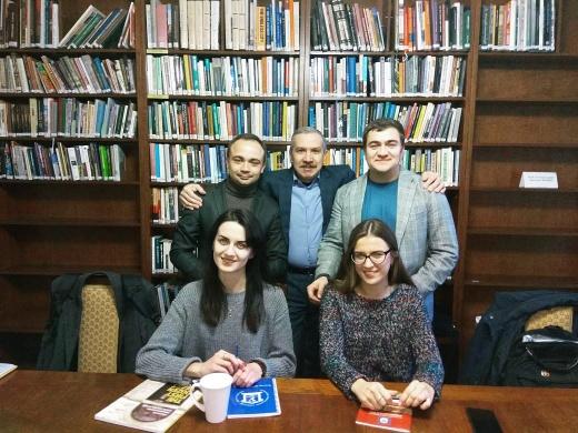 Презентация и обсуждение урбанистического проекта в Центре городской истории Центрально-Восточной Европы