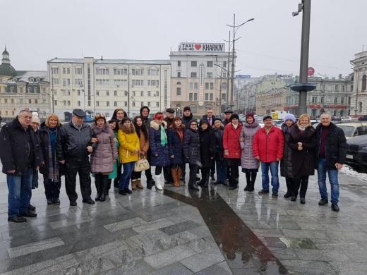 Презентация урбанистического проекта на семинаре «Харьков дипломатический»