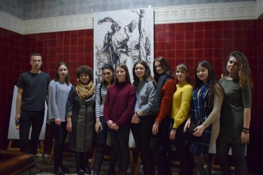 Заседание научного студенческого кружка искусствоведов