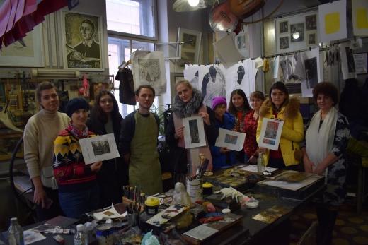 Засідання наукового студентського гуртка мистецтвознавців