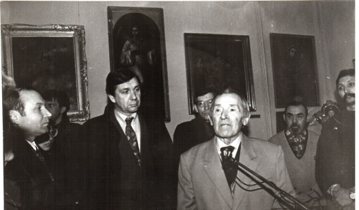 Afanasy Fedorovich Lunyev's 100th Birthday (1919-2004).