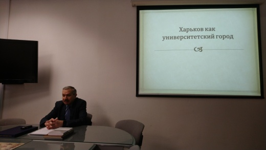 "Prof. S.I.Posokhov took part in the meeting of the Graduate Club of the Kharkiv University of Humanities ""People's Ukrainian Academy"""