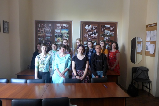 Within the meeting of the student scientific circle of historiography, source study and special historical disciplines, a meeting was held with A.A. Alekseenko