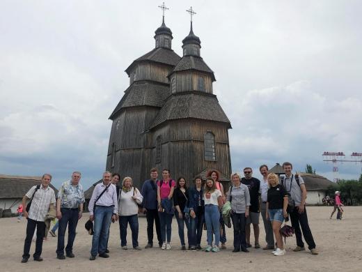 Коллектив кафедры побывал на Хортице