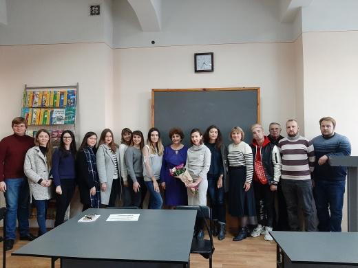 Творческая встреча с Анастасией Евсеевой