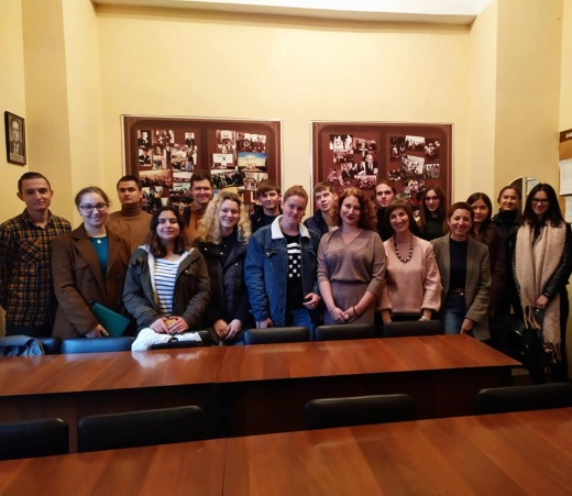 Засідання студентського наукового гуртка історіографії, джерелознавства та СІД