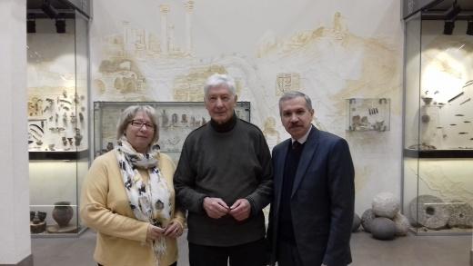 Рабочая встреча с Александром Степановичем Бакай