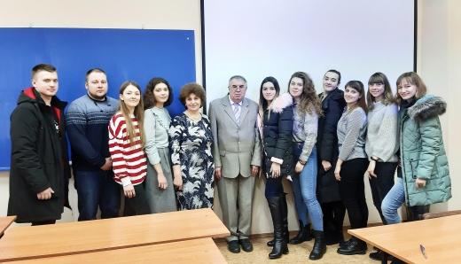 Заседание студенческого кружка Искусствоведов