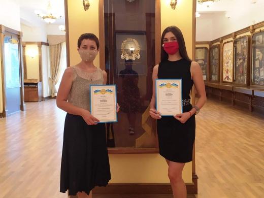 Студентка кафедры Анастасия Пасько стала победителем II этапа Всеукраинского конкурса студенческих научных работ