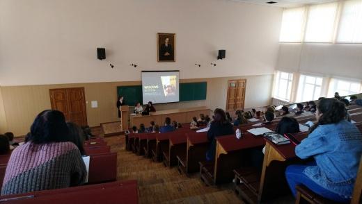 Встреча магистров кафедры со студентами первого курса