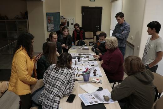 Заседание студенческого научного кружка археологии