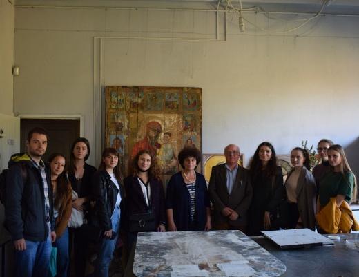 Заседание кружка искусствоведов