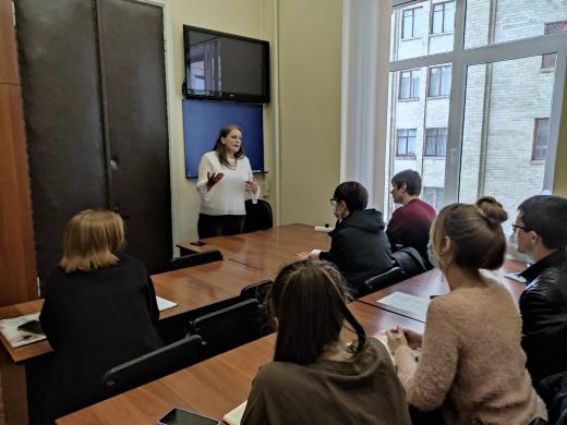 Семинар в рамках Erasmus +