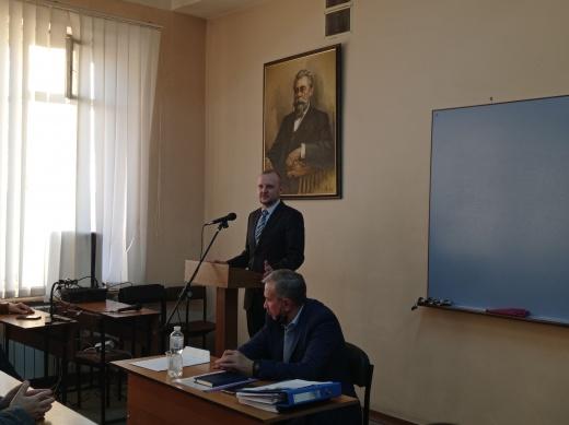 Вітаємо Олексія Янкула з успішним захистом дисертації
